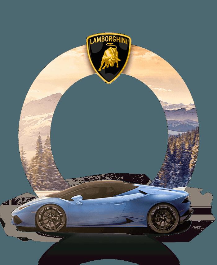 Il mio lavoro in portfolio per Lamborghini