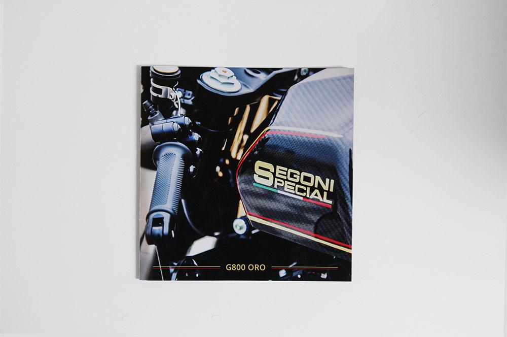La G800 oro di Segoni Special